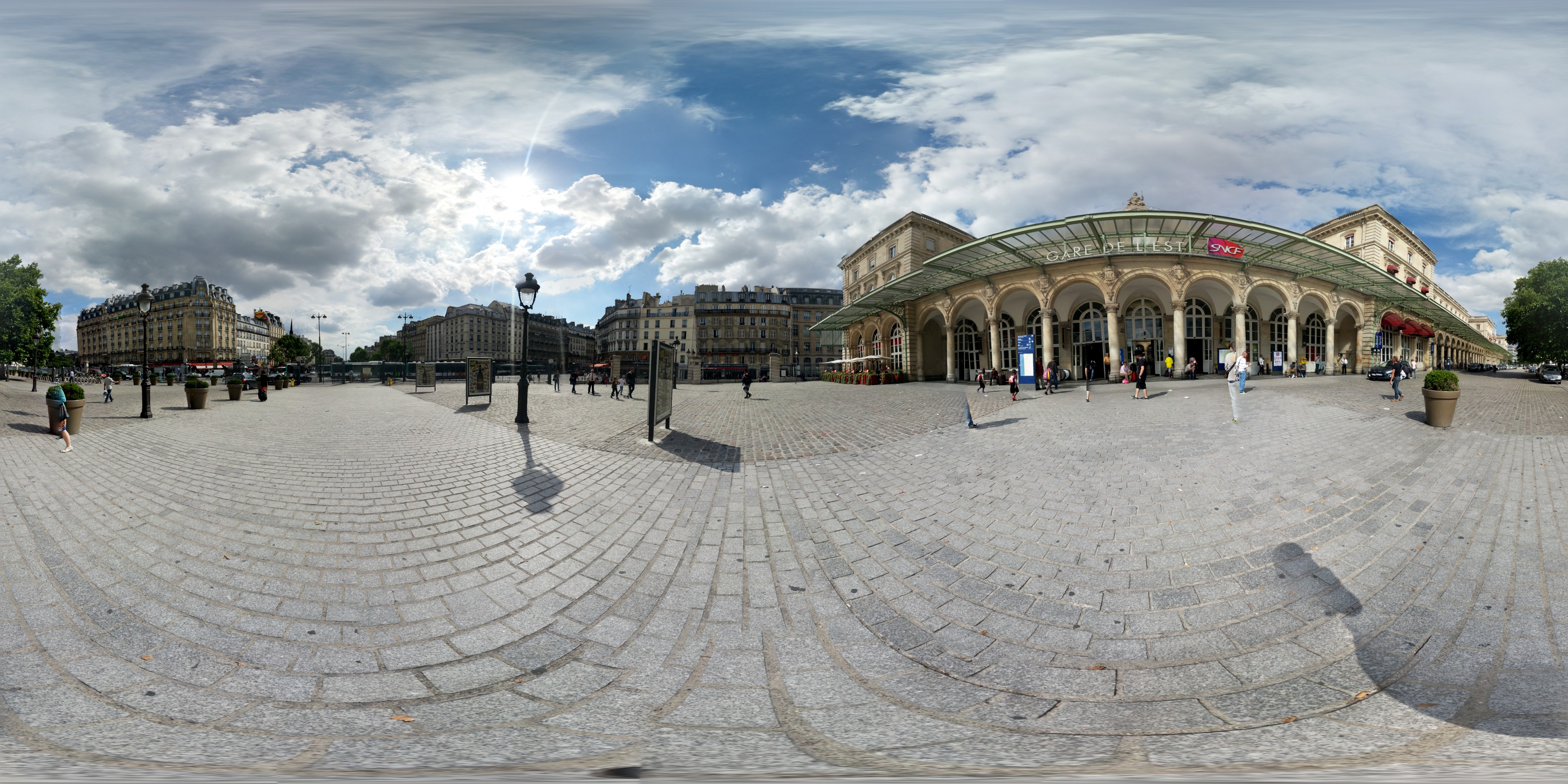 Paris Gare de l'Est Photosphere