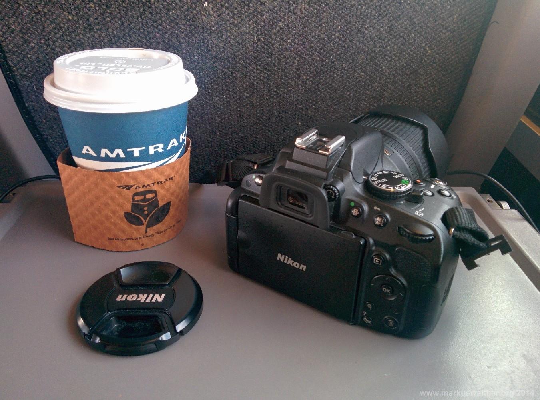 Fahrt im Amtrak von Boston nach New York
