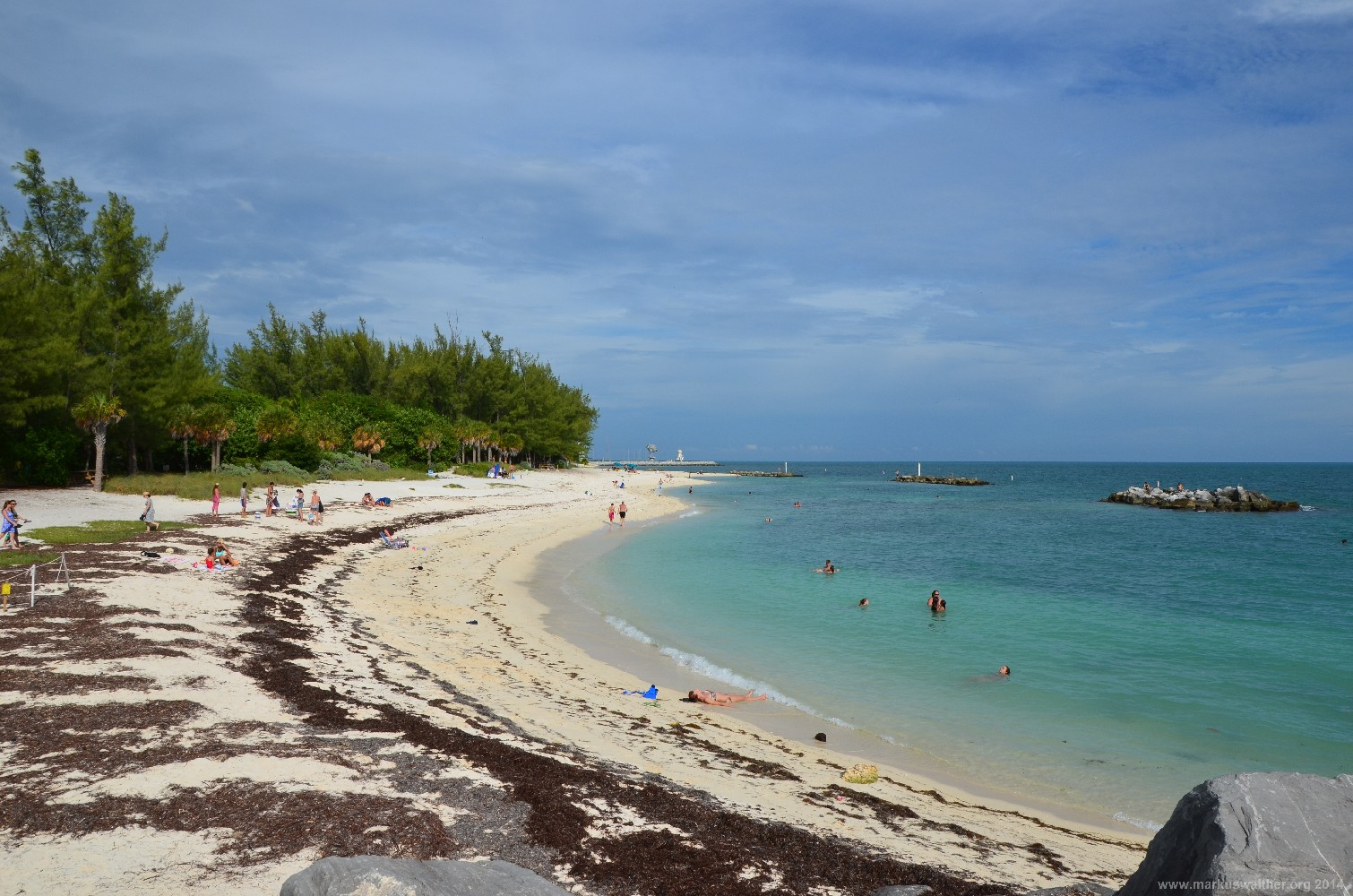 Strand des Fort Zachary Taylor Historic State Park, Key West