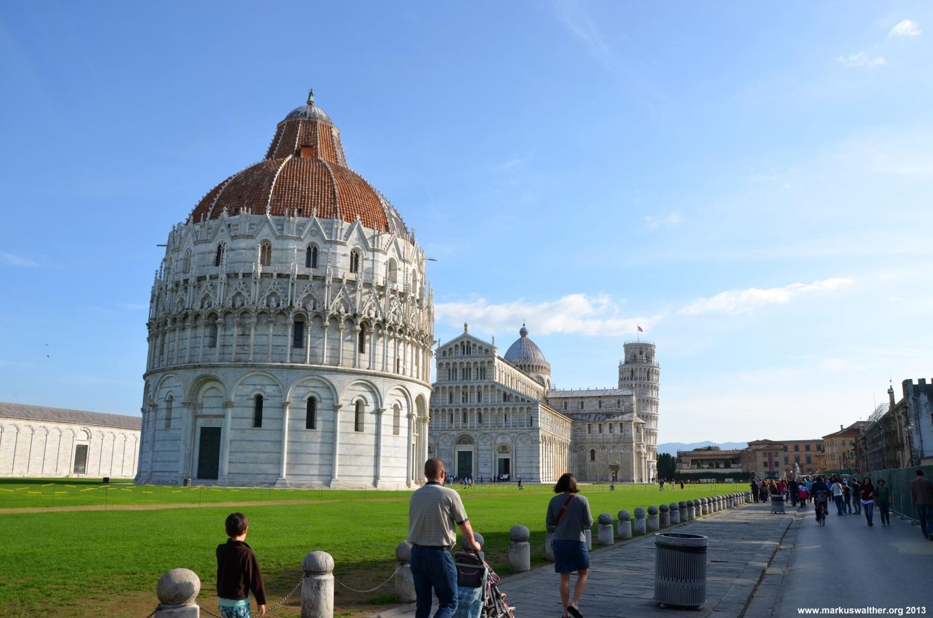 Dom zu Pisa mit Schiefem Turm